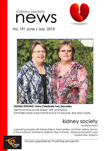 KIDNEY SOCIETY News Master JUNE JULY