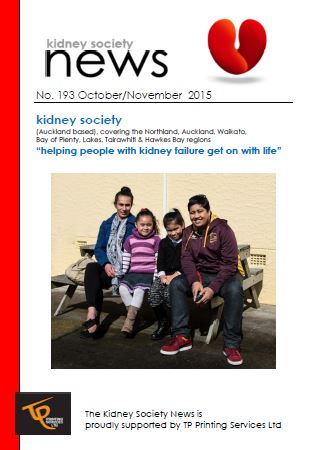 KIDNEY SOCIETY News OCT NOV 15