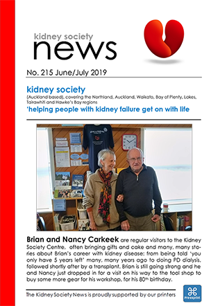 KIDNEY SOCIETY News June July 2019