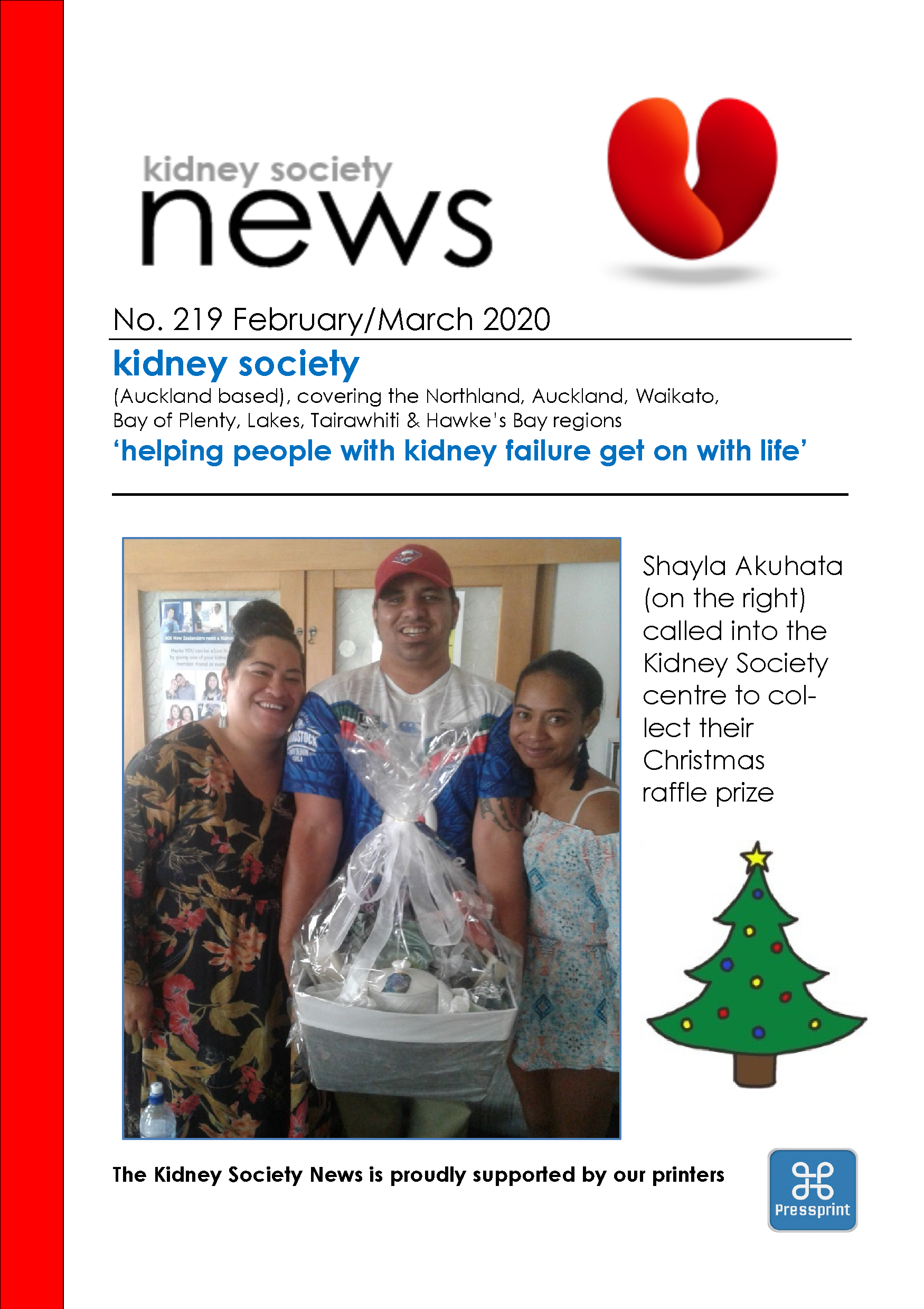 KIDNEY SOCIETY News December January 2020